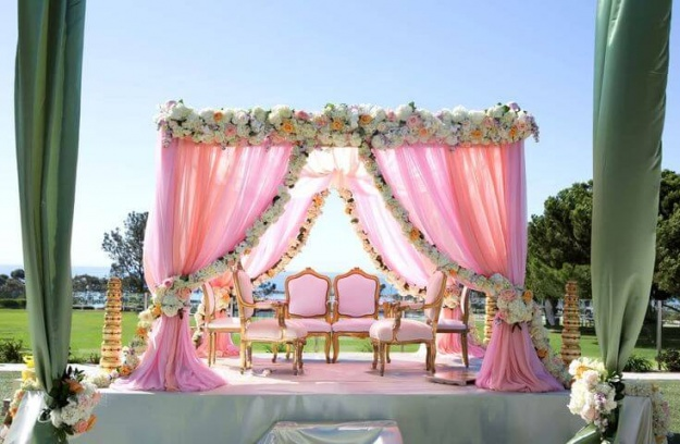 The customized Venue for wedding