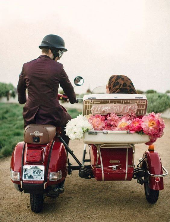 Ride With Style bride