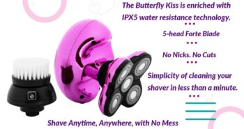 butterfly kiss shaver for women