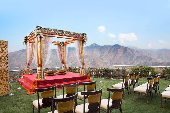 Special Outer Landscape for Indian wedding