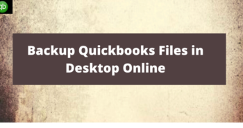 Quickbooks Files in Desktop Online