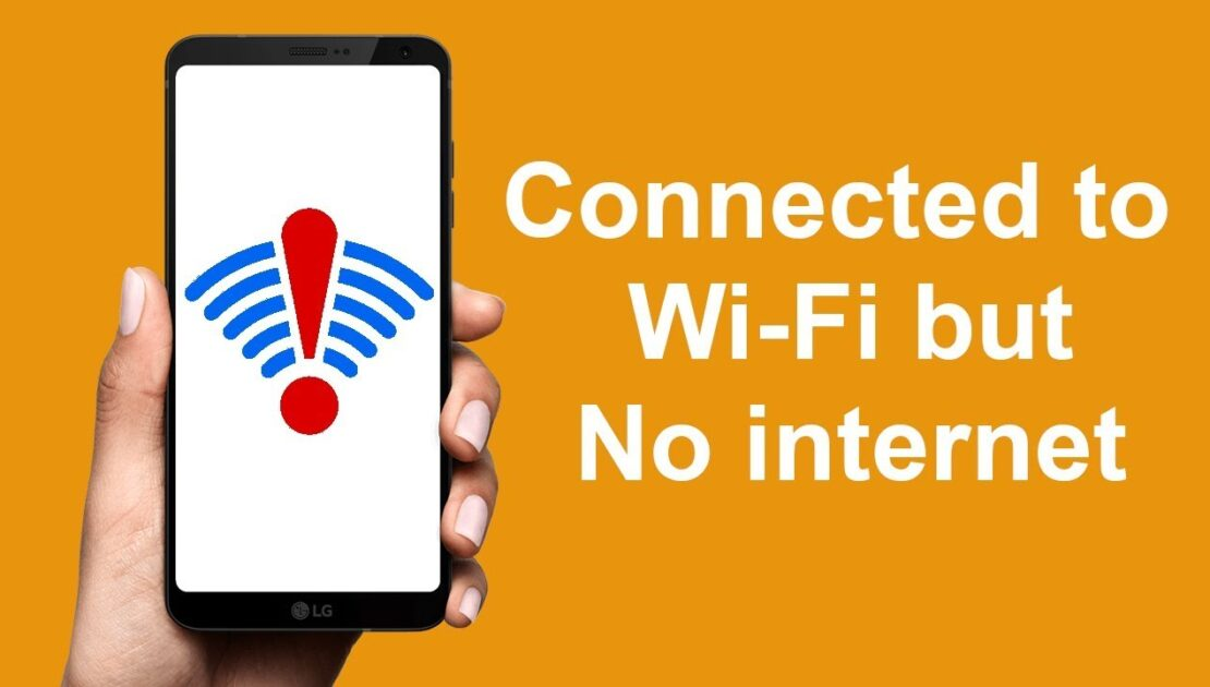 WiFi Connected But No Internet Access Issue