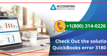 QuickBooks error 3180