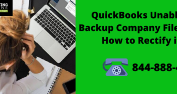 QuickBooks Unable to Backup Company File Error How to Rectify it