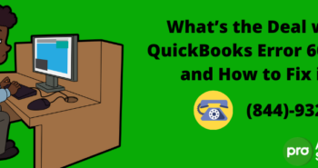 What's the Deal with QuickBooks Error 6000 83 and How to Fix it