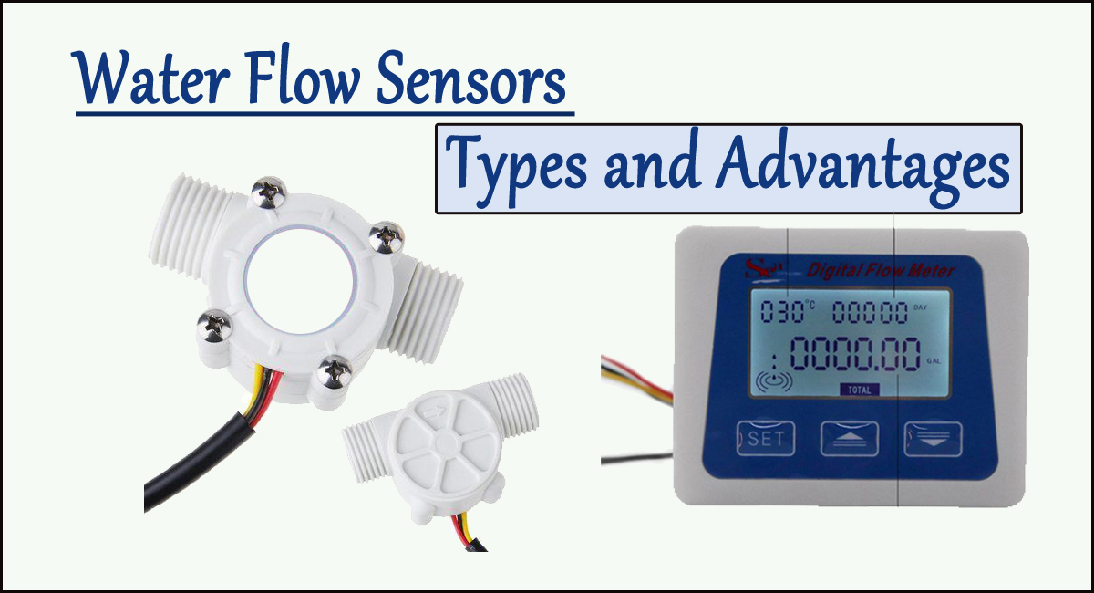 water flow sensors- Water flow Sensors: Types and Advantages