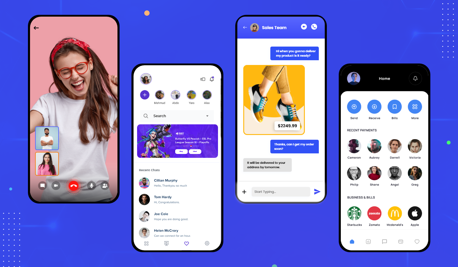 Chat app for industies