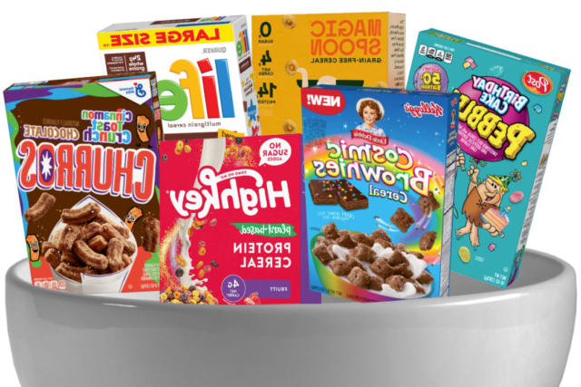 Customized Luxury Cereal Boxes