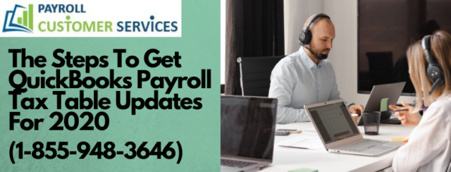 QuickBooks payroll tax table updates for 2020