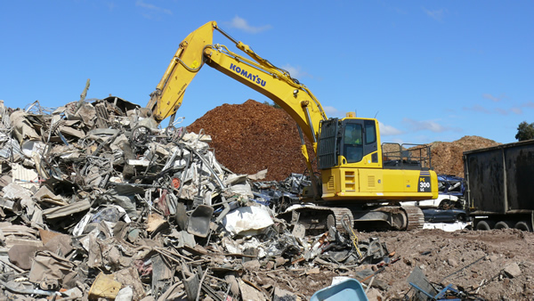 steel recycling Melbourne