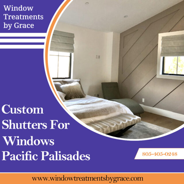Custom Shutters For Windows Pacific Palisades
