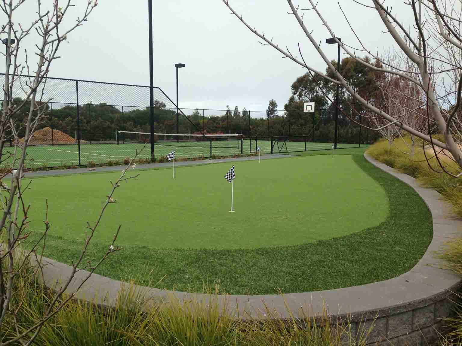 Tennis Court Synthetic Grass Melbourne