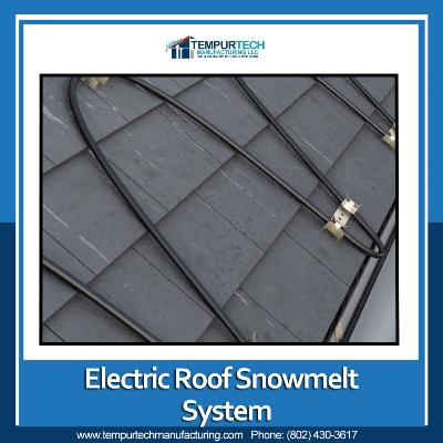 Electric Rroof Snowmelt Systems